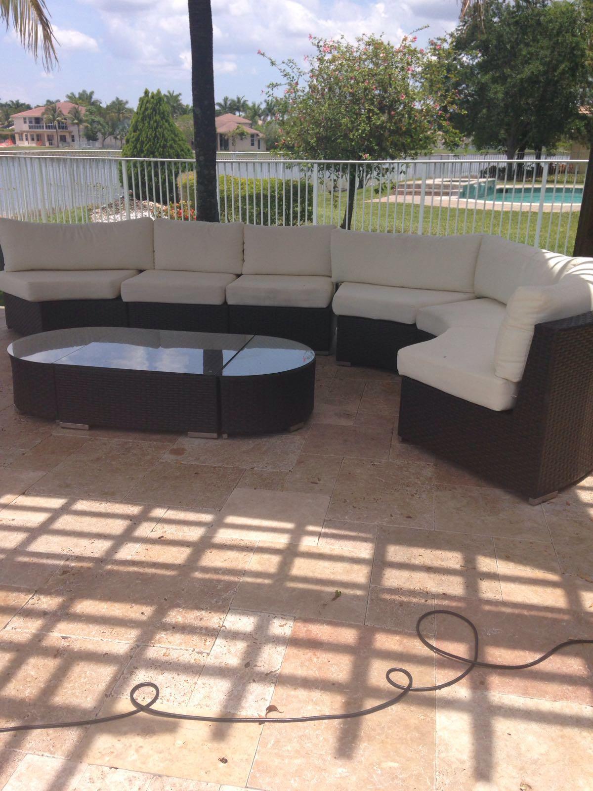 Oportunidad venta muebles de jardin vivir weston for Jardin inscripcion 2016